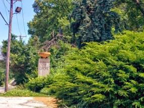 Oak Grove Cemetery gate