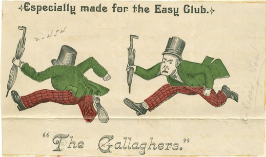 The Gallaghers for cigars1887
