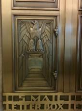 Kaufmann Eagle elevator lobby detail