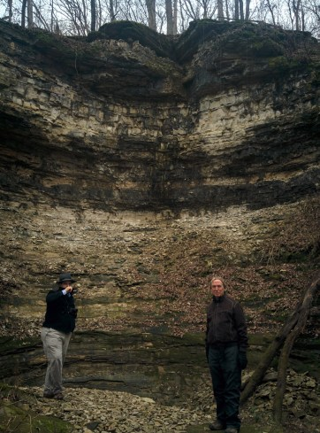 Richard and Greg at Ball Mill Resurgence