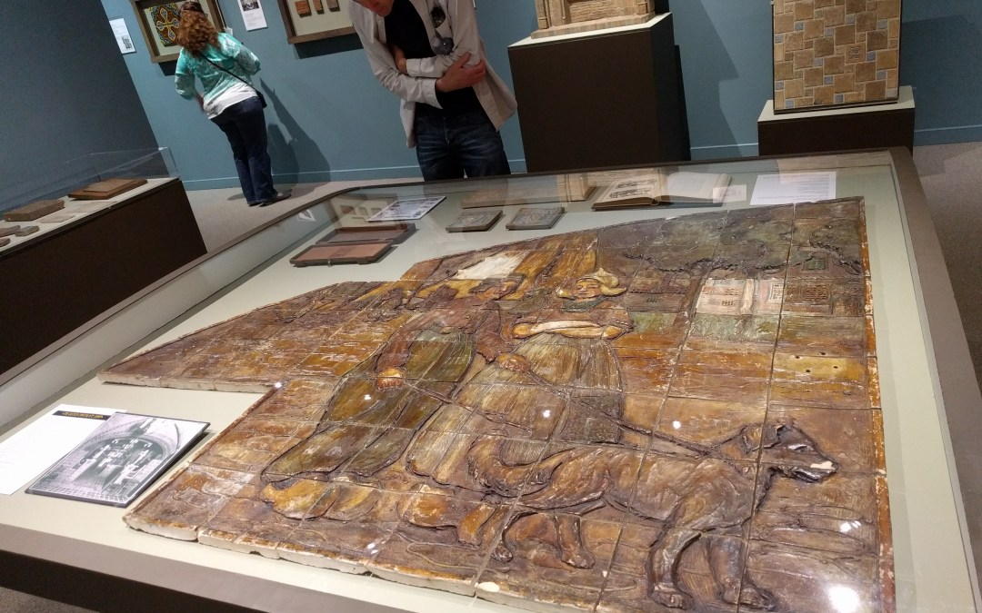 "A little bit of the Dutch Chocolate Shop goes on tour at Pasadena Museum of History's ""Batchelder: Tilemaker"" exhibition"