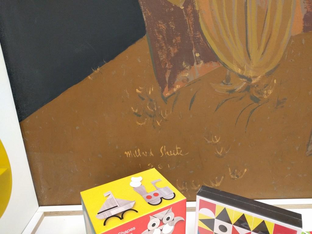 scottish rite bookstore mural signature