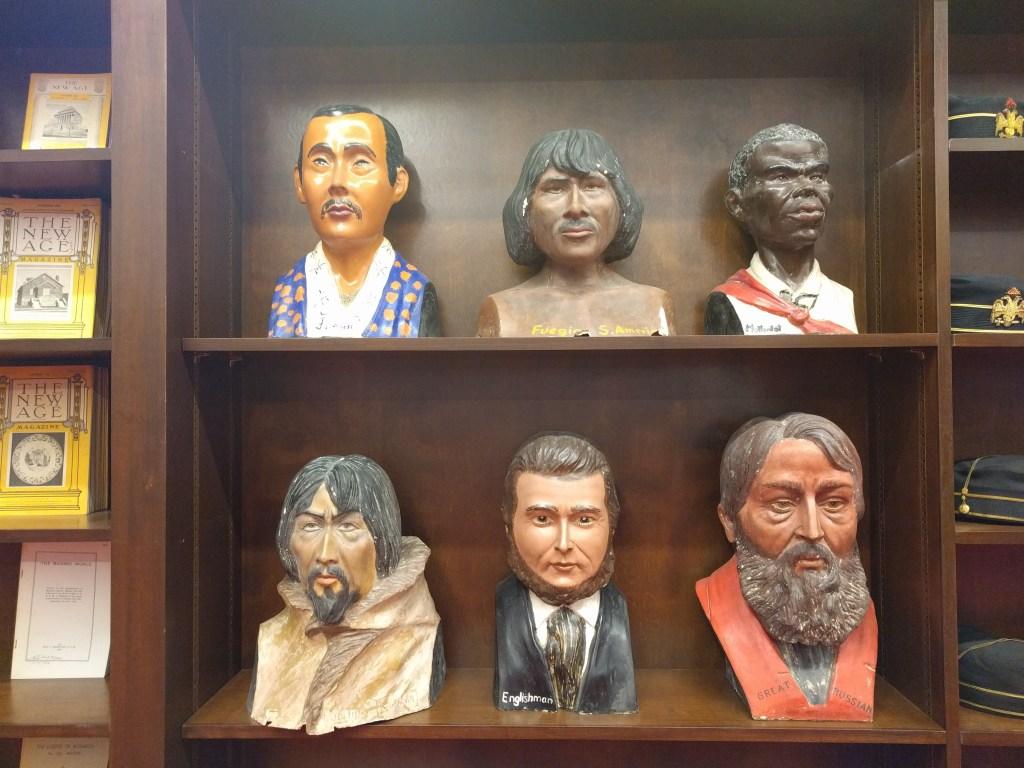 scottish rite busts