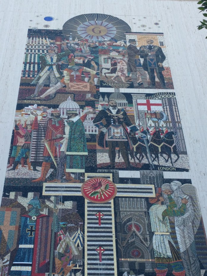 scottish rite history mosaic 2