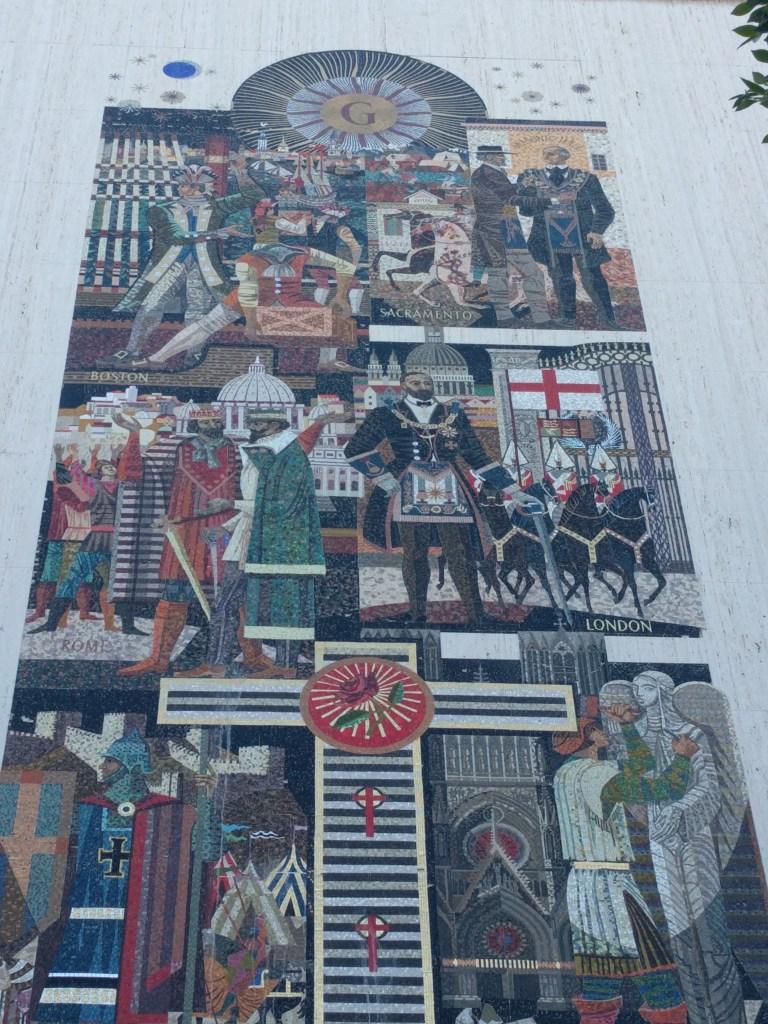 scottish rite history mosaic 2