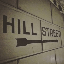 Vintage sign to nowhere.