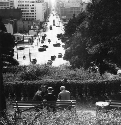 Park on Hill Street Atop The Double Bore Tunnel