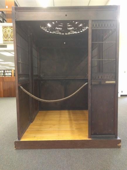 nickel elevator cage