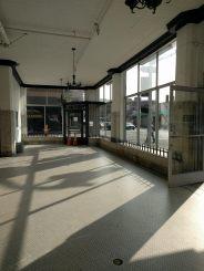 modern light-filled lobby