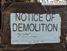 1430 Arapahoe notice of demolition