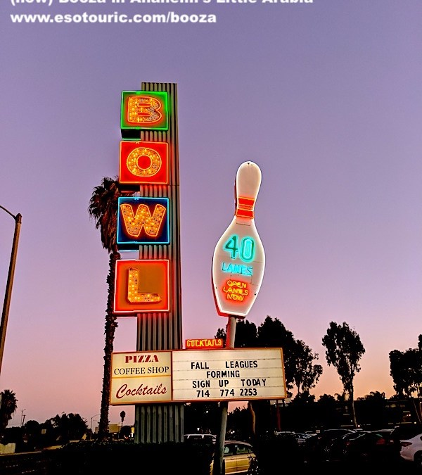 Celebrating 61 Years of Neon, Bowling, Booze & (now) Booza in Anaheim's Little Arabia