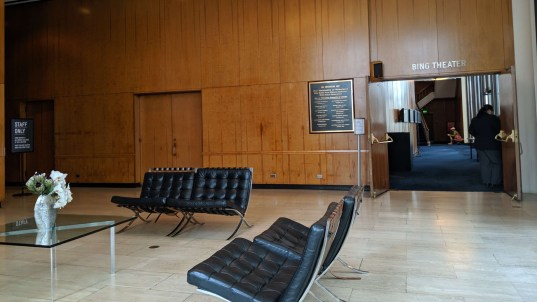 Lobby Bing Theater
