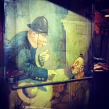 Missing fire door basement King Eddy Cellar.