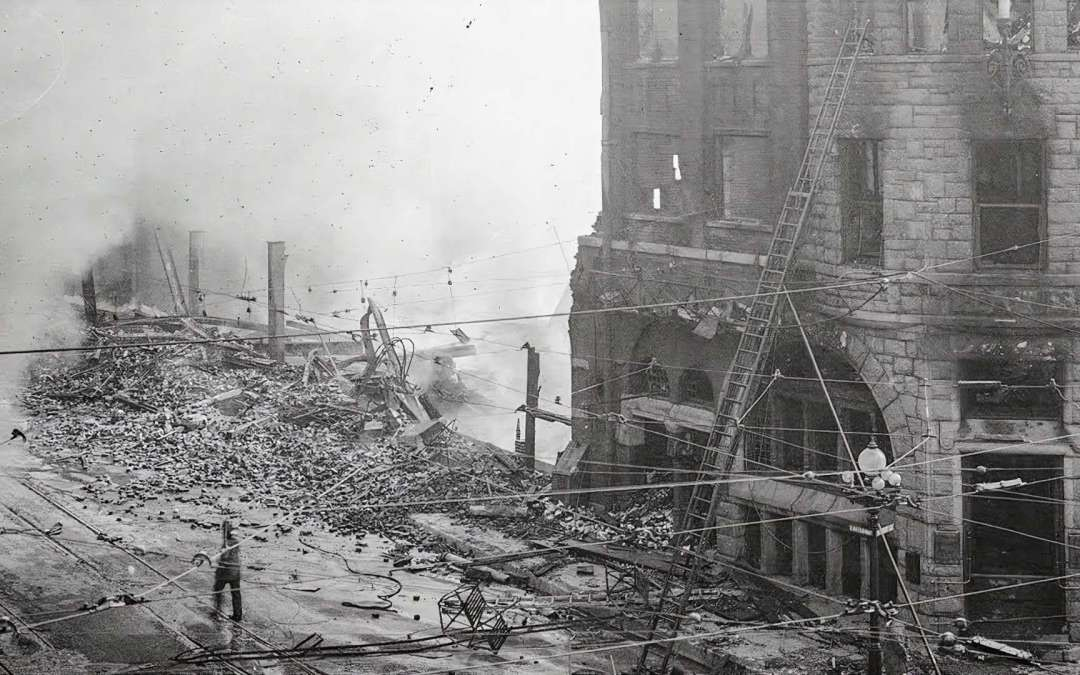 """Esotouric Presents """"The 1910 Los Angeles Times Bombing with Detective Mike Digby"""" webinar"""