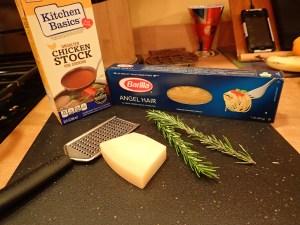 Angel Hair Pasta Soup Ingredients