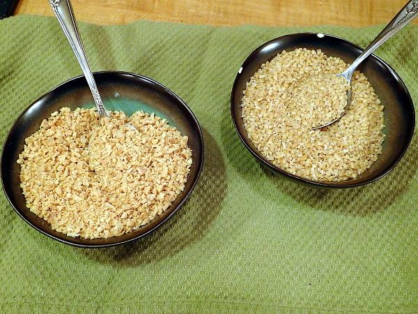 TVP and Bulgur Wheat