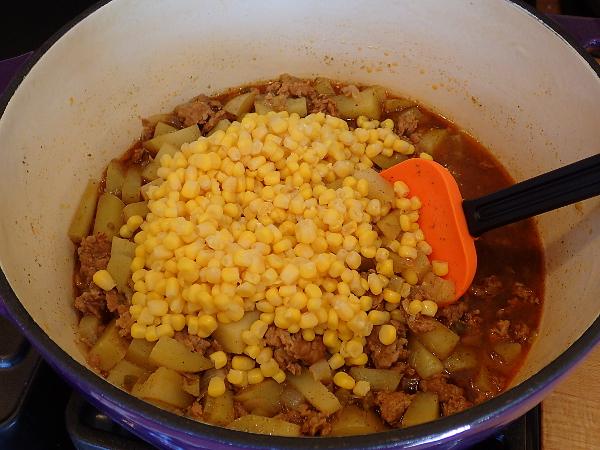 Add whole kernel corn