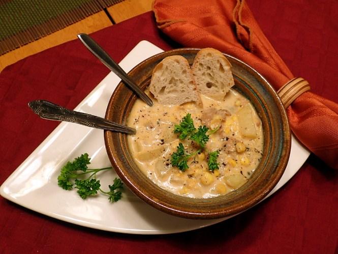 Sausage Potato Corn Chowder