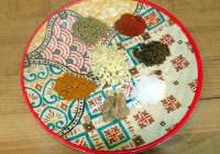 Beef biryani soup spice mix