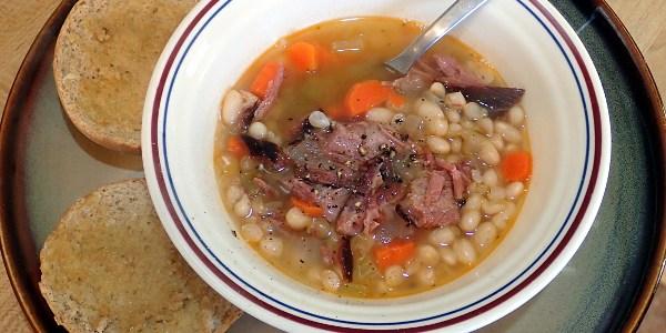Manitoba Ham and Bean Soup