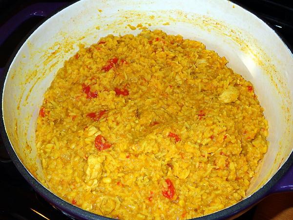 Cook soup 30 minutes