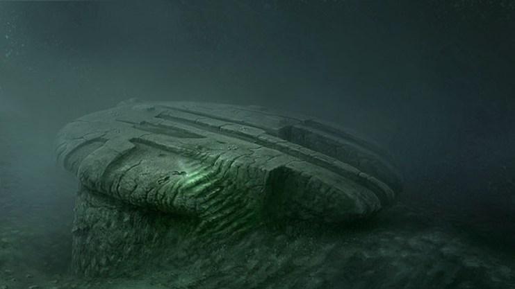 Resultado de imagen de ovni mar baltico