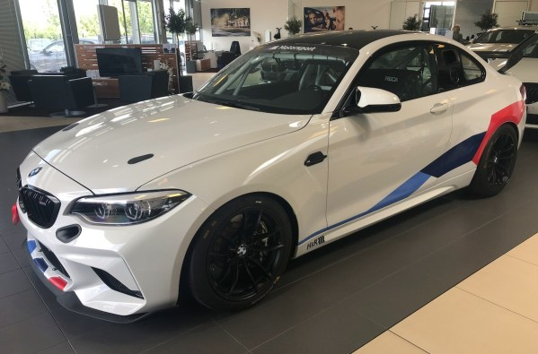 Livraison BMW M2 CS Racing