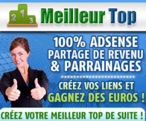 Inscrivez-vous sur Meilleur-Top.com avec Sébastien comme parrain !