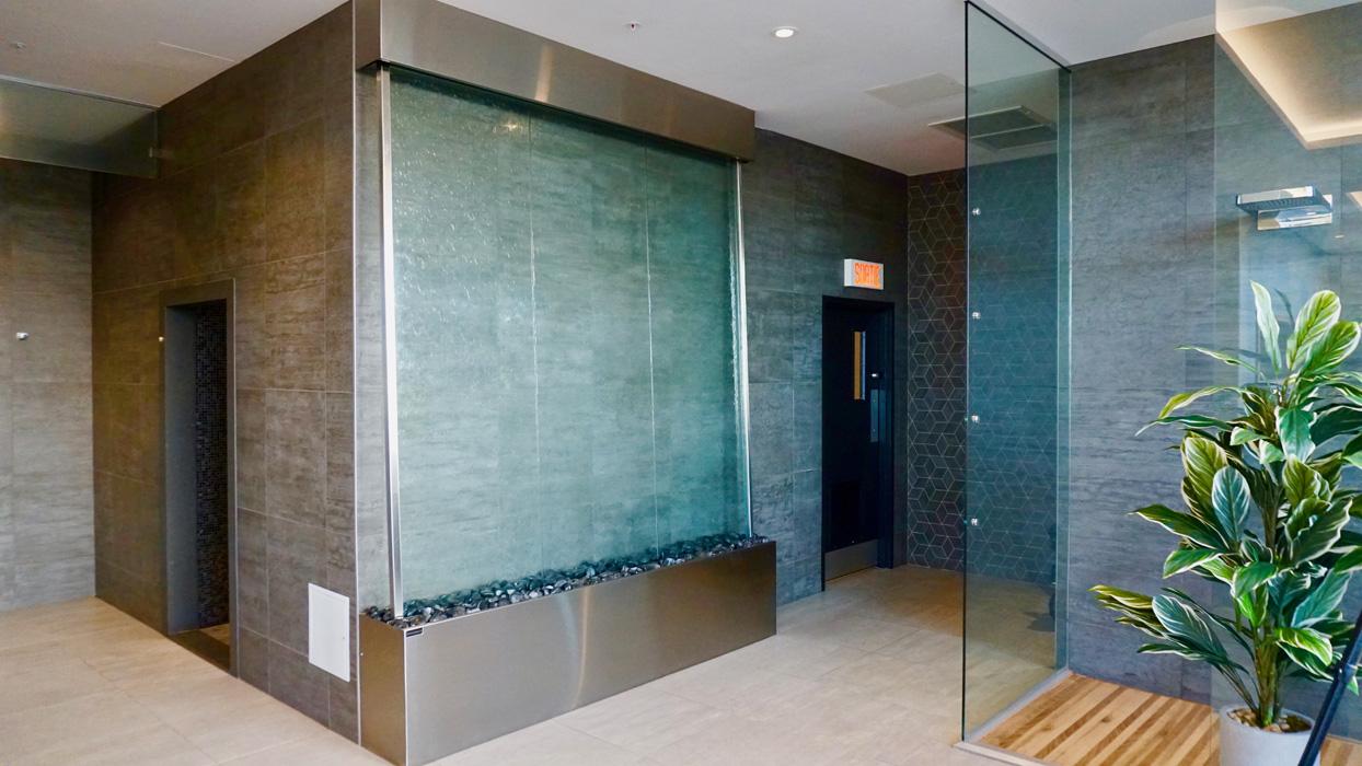 grand format murs d eau et de bulles