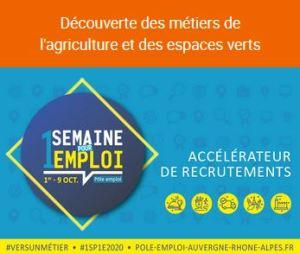 Métiers agricoles & espaces verts @ Pôle Emploi Givors