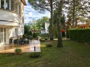 terrasses, jardin, extérieurs, centre d'affaires
