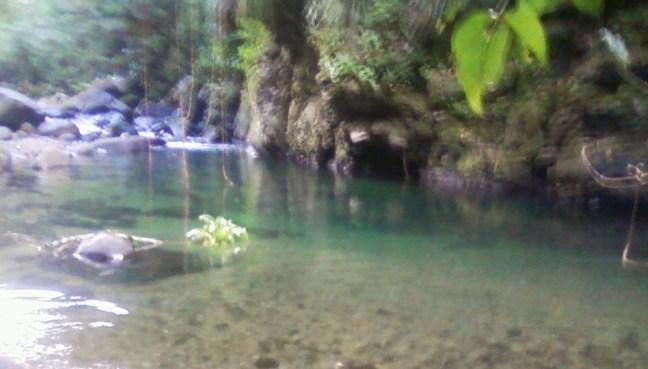 Un bassin de la rivière de Pérou