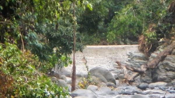 Longer la rivière de Pérou