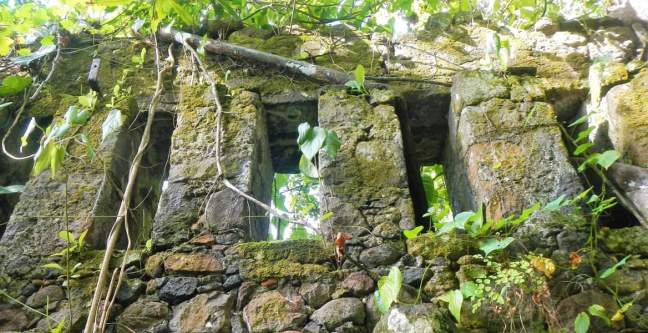 Ruines de l'ancienne usine à sucre