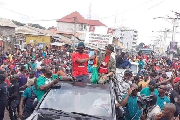 Guinée: la foule dans la rue contre le troisième mandat