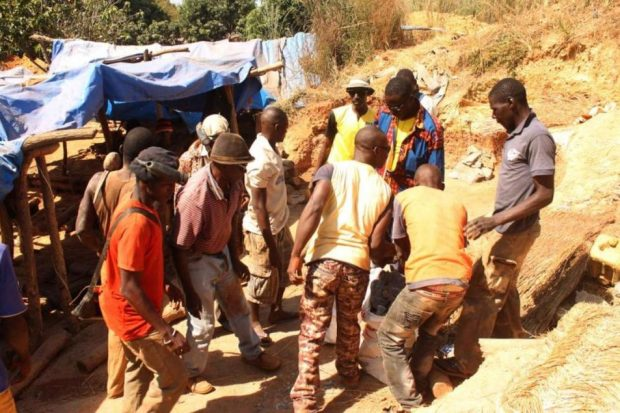 Siguiri: un éboulement fait plusieurs morts dans une mine