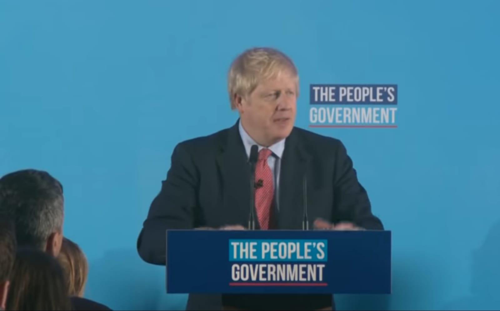 """Boris Johnson obtient un mandat record pour son """"Let's get Brexit done"""" et la permission de la reine pour former son """"people's government"""""""