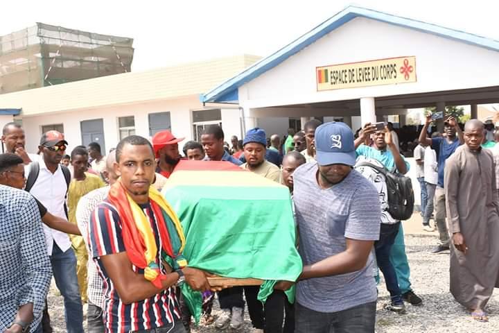 Victime de la récente manifestation du FNDC,  Mamadou Sow a rejoint sa dernière demeure
