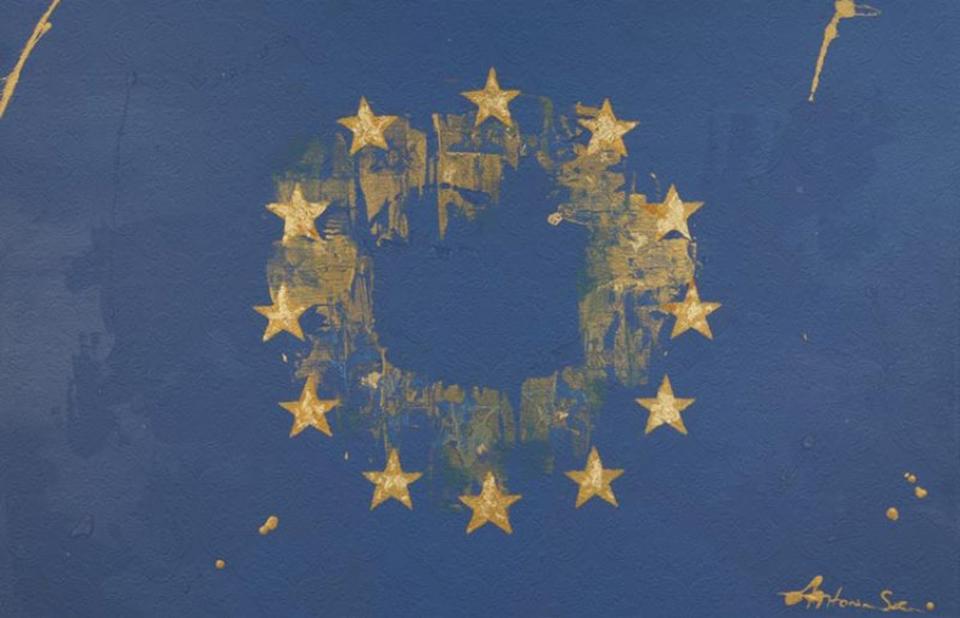 """""""European flag"""" por Max Henkell"""