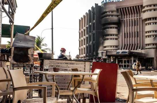 Ataque terrorista en Ouagadougou (Burkina Faso)