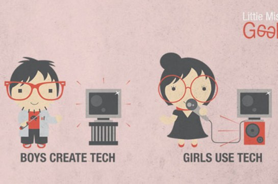 Brecha Digital de Género según LadyGeek