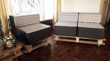 sillón 2 plazas DIY