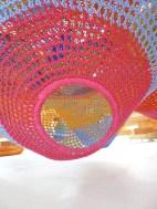 juegos infantiles con mallas y tejidos