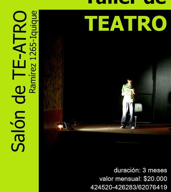 Taller de Teatro – Iquique 2010
