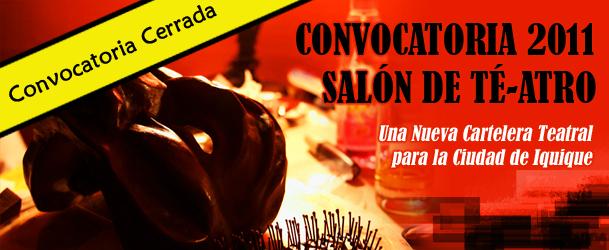 Convocatoria a Cartelera Teatral Iquique 2011