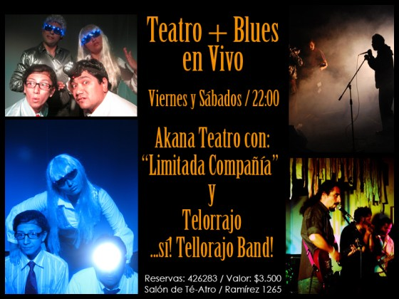 Telorrajo y Akana Teatro