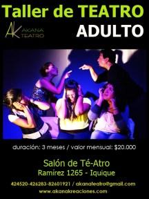 Taller de Teatro Adulto 2011