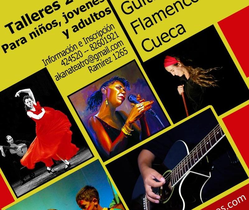 Talleres Artísticos Iquique 2011 – (Teatro, Música, Canto, Guitarra, Cueca, Flamenco)