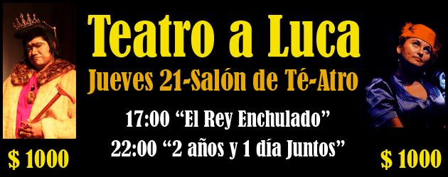 Teatro a luca en Iquique 2011