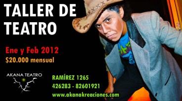 Taller de Teatro Verano 2012